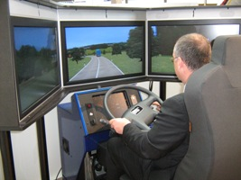 Fahr-Simulation