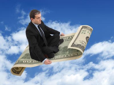 fly on money