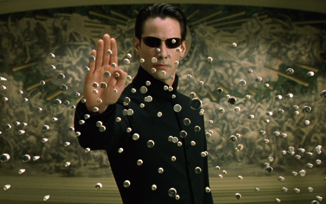 The Matrix Reloaded is actually good with 8 bit sound effects