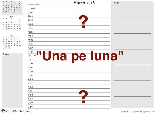 march 2016 daily calendar 7 8 h gray d