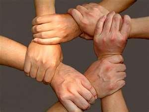 manos juntas