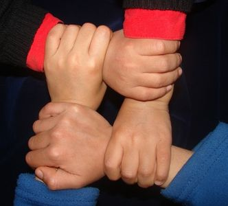 Collective Bargaining hand image