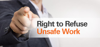 safety page right to refuse