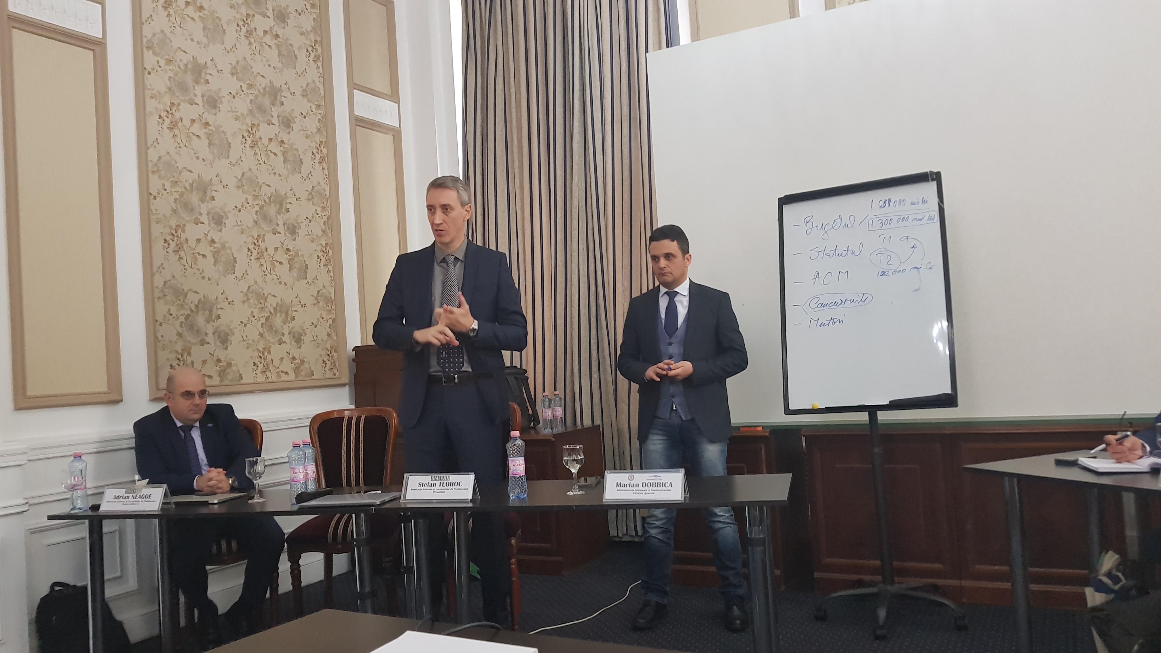 SNLP: Adunarea Generala – ianuarie 2019. Alegeri