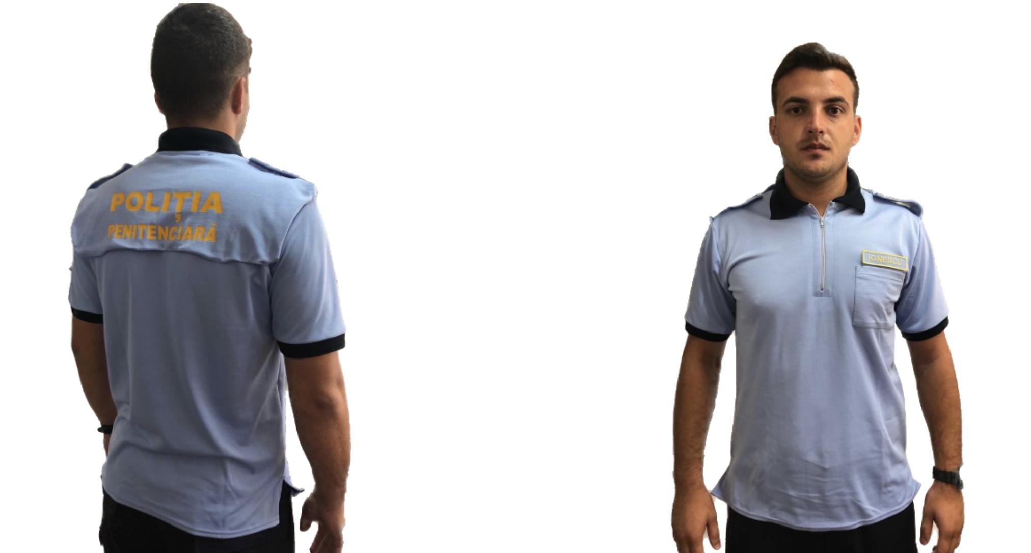 Uniforma pentru politistul de penitenciare